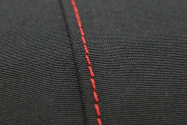 Custom coloured Stitching